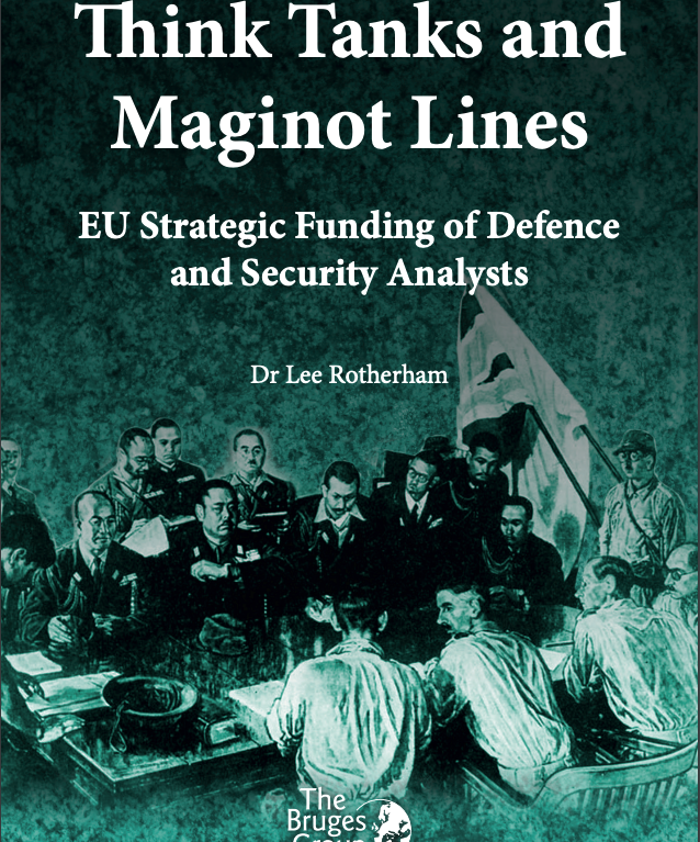 Think Tanks and Maginot Lines
