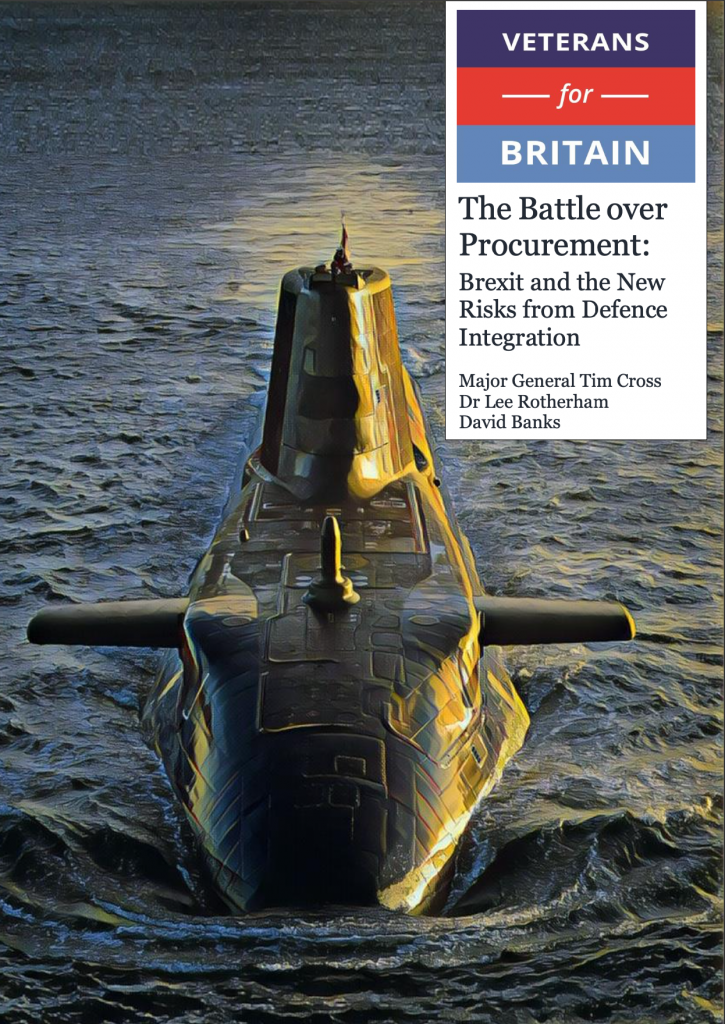 The Battle over Procurement: Brexit and the New Risks from Defence Integration